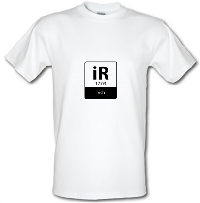 irish element male tshirt.