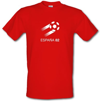 Imagem de 1982 World Cup Espana male t shirt.