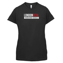 London Real female t-shirt