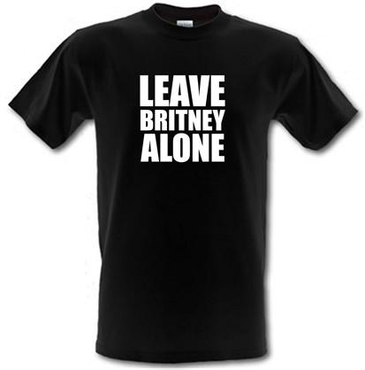 Leave Britney Alone male tshirt.
