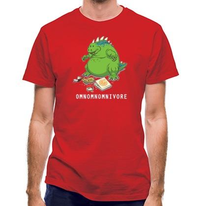 CHEAP Omnomnomnivore classic fit. 25414496345  Novelty T-Shirts