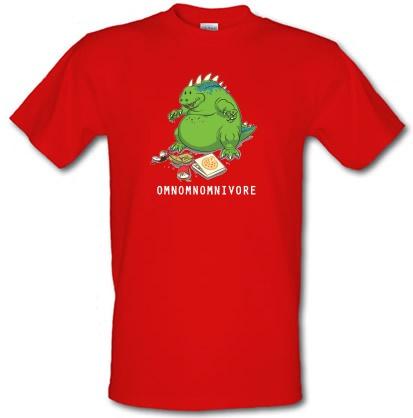 CHEAP Omnomnomnivore male t-shirt. 3514053065  Novelty T-Shirts