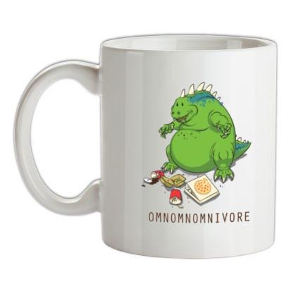 CHEAP Omnomnomnivore mug. 24074193401  Novelty T-Shirts