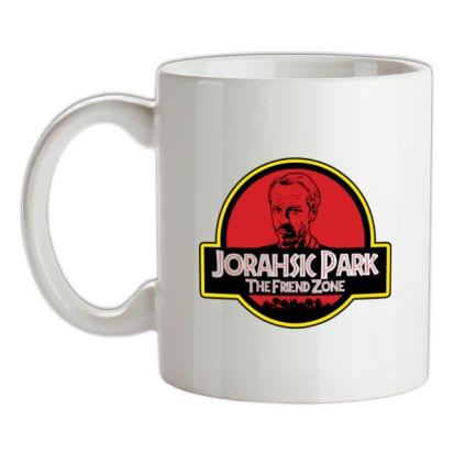 Johrasic Park mug.