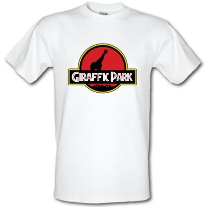 CHEAP Giraffic Park male t-shirt. 3595678741  Novelty T-Shirts