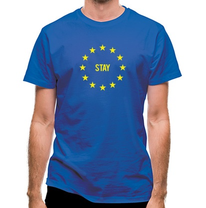 CHEAP Vote EU Stay classic fit. 25414498655  Novelty T-Shirts