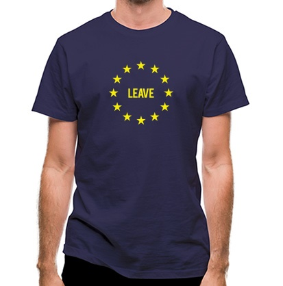 CHEAP Vote EU Leave classic fit. 25414498653  Novelty T-Shirts