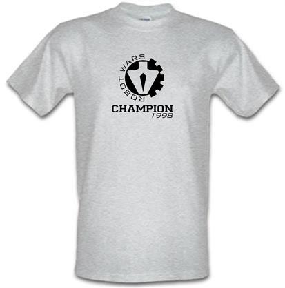 CHEAP Robot Wars Champion 1998 male t-shirt. 51135807  Novelty T-Shirts
