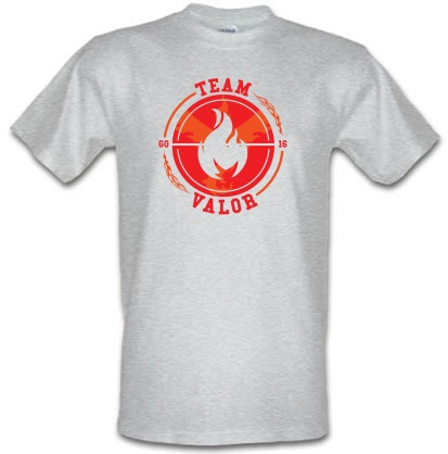 Team Valor GO male tshirt.