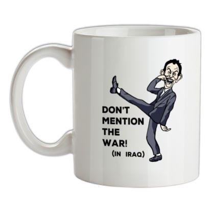 CHEAP Dont Mention The War! mug. 24074189831  Novelty T-Shirts