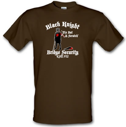 CHEAP Black Knight Bridge Security male t-shirt. 3631259037  Novelty T-Shirts