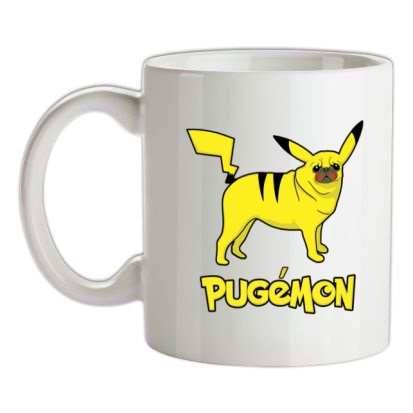 CHEAP Pugamon mug. 24074193665  Novelty T-Shirts