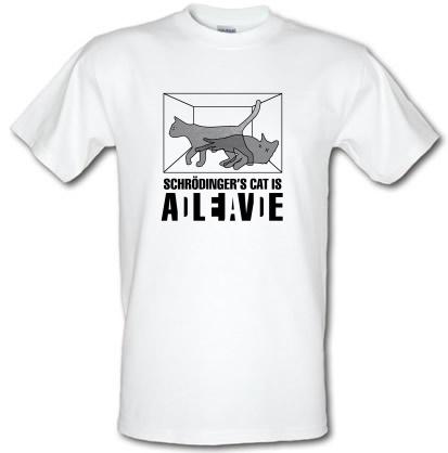 CHEAP Schrodinger's Cat Box male t-shirt. 3638554507  Novelty T-Shirts
