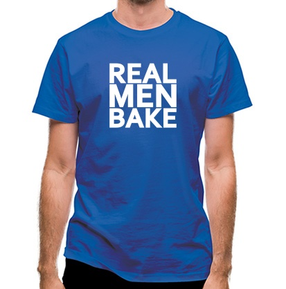 CHEAP Real Men Bake classic fit. 25414496875  Novelty T-Shirts