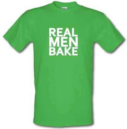 CHEAP Real Men Bake male t-shirt. 3640862027  Novelty T-Shirts