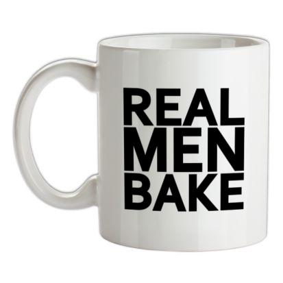 CHEAP Real Men Bake mug. 24074193755  Novelty T-Shirts