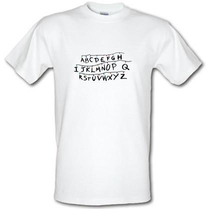 CHEAP Stranger Alphabets male t-shirt. 3643204409  Novelty T-Shirts