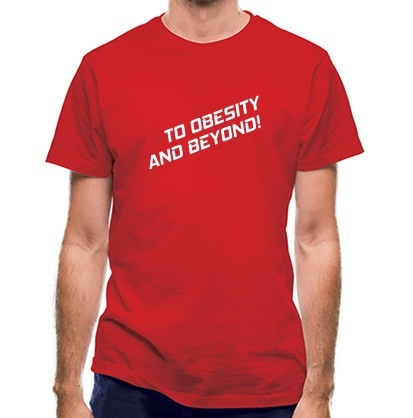 CHEAP To Obesity And Beyond classic fit. 25414498389  Novelty T-Shirts