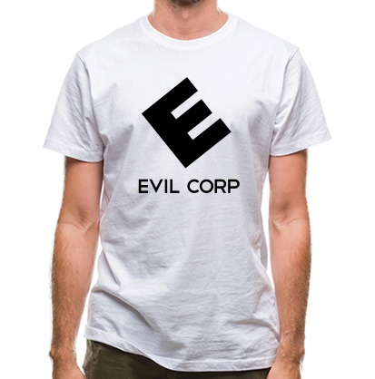 CHEAP Evil Corp classic fit. 25414492293  Novelty T-Shirts