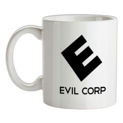 CHEAP Evil Corp mug. 24074190187  Novelty T-Shirts