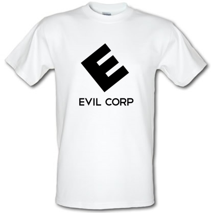 CHEAP Evil Corp male t-shirt. 3649547031  Novelty T-Shirts