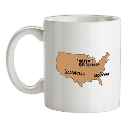 CHEAP By Gum It Put Them On The Map mug. 24074189127  Novelty T-Shirts