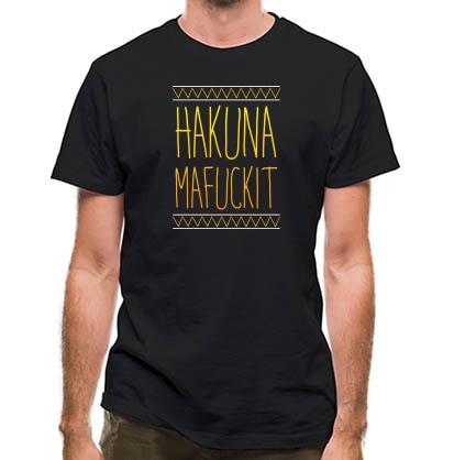 CHEAP Hakuna Mafuckit classic fit. 25414493067  Novelty T-Shirts