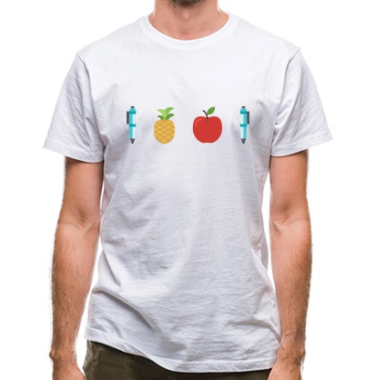 CHEAP Pen Pineapple Apple Pen classic fit. 25414496511  Novelty T-Shirts