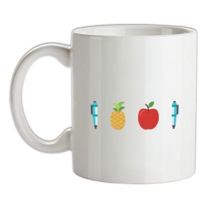CHEAP Pen Pineapple Apple Pen mug. 24074193505  Novelty T-Shirts