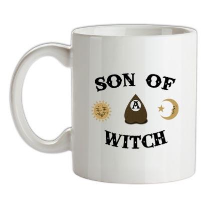 CHEAP Son Of A Witch mug. 24074194137  Novelty T-Shirts