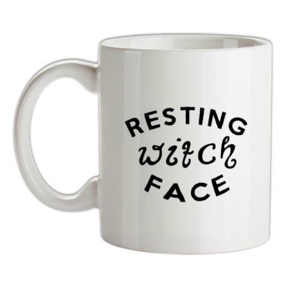 CHEAP Resting Witch Face mug. 24074193797  Novelty T-Shirts