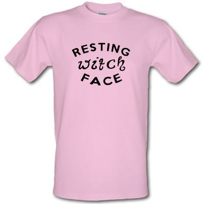 CHEAP Resting Witch Face male t-shirt. 3689529027  Novelty T-Shirts