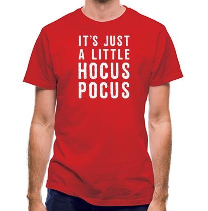CHEAP It's Just A Little Hocus Pocus classic fit. 25414494655  Novelty T-Shirts