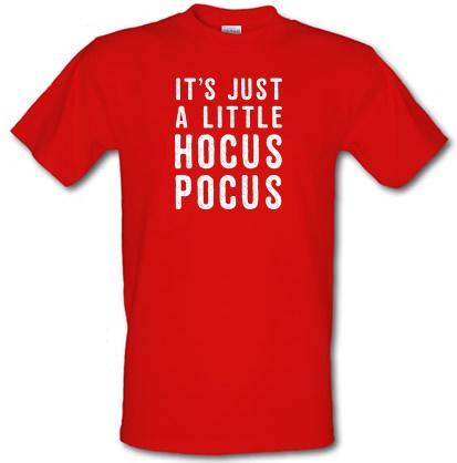 CHEAP It's Just A Little Hocus Pocus male t-shirt. 3689529023  Novelty T-Shirts