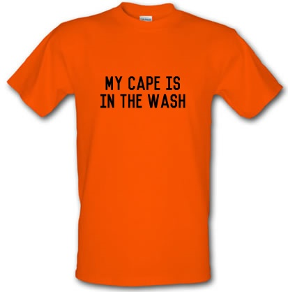CHEAP My Cape Is In The Wash male t-shirt. 3690004589  Novelty T-Shirts