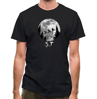 CHEAP Stranger Things Moon classic fit. 25414497741  Novelty T-Shirts