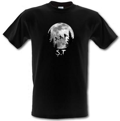 CHEAP Stranger Things Moon male t-shirt. 3694910331  Novelty T-Shirts