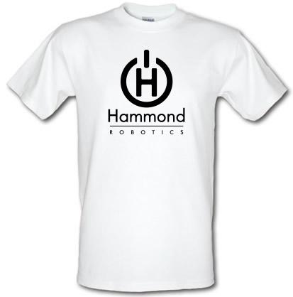 CHEAP Hammond Robotics male t-shirt. 3696399601  Novelty T-Shirts