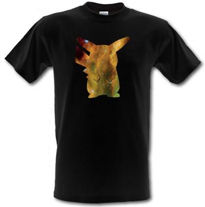 CHEAP Pika-Galaxy male t-shirt. 3698983691  Novelty T-Shirts