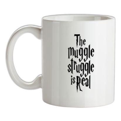 CHEAP The Muggle Struggle Is Real mug. 24074194479  Novelty T-Shirts