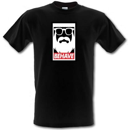 CHEAP Behave male t-shirt. 3718998547  Novelty T-Shirts