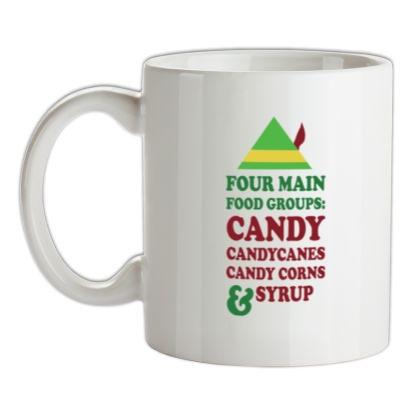CHEAP Four Main Christmas Food Groups mug. 24074190489  Novelty T-Shirts