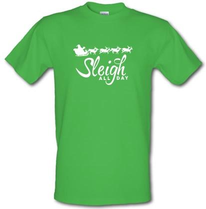 CHEAP Sleigh All Day male t-shirt. 3720139241  Novelty T-Shirts