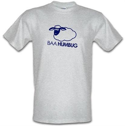 CHEAP Baa Humbug male t-shirt. 51570549  Novelty T-Shirts