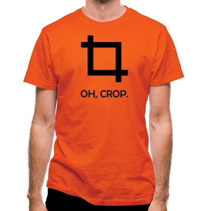 CHEAP Oh Crop! classic fit. 25414496301  Novelty T-Shirts