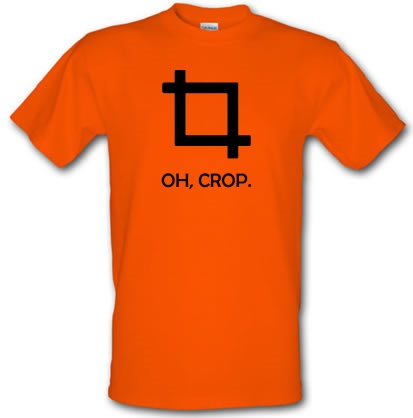 CHEAP Oh Crop! male t-shirt. 3779405987  Novelty T-Shirts