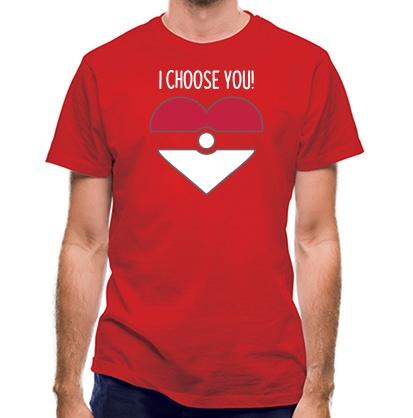 CHEAP I Choose You! classic fit. 25414493549  Novelty T-Shirts