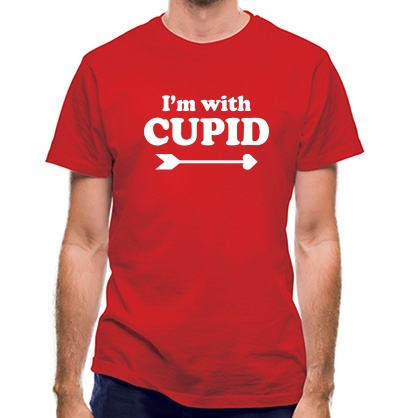 CHEAP I'm With Cupid classic fit. 25414494351  Novelty T-Shirts