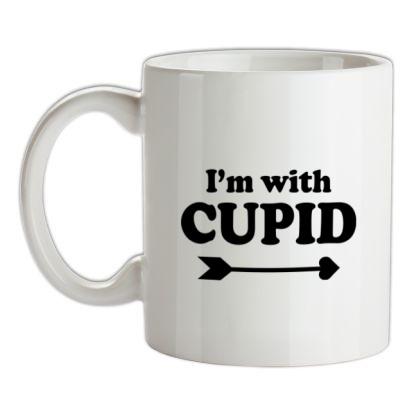 CHEAP I'm With Cupid mug. 24074192001  Novelty T-Shirts