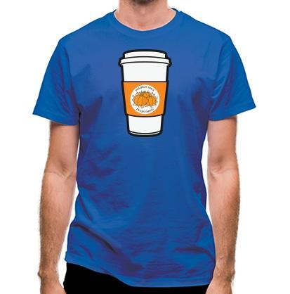CHEAP pumpkin spice classic fit. 25414496781  Novelty T-Shirts
